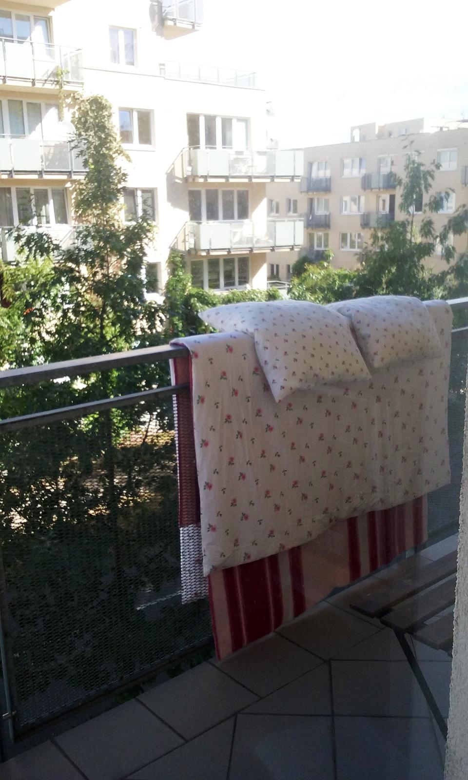 Líbí se mi bydlení v zeleni. Vždycky jsem si přála dívat se oknem do koruny stromu.